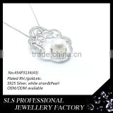 Pearl sucha moti gemstones stones 925 silver jewelry pendant for teenager wear pendant metal engrave pendant Image