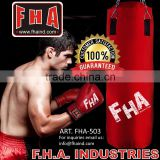 Boxing Bag Boxing set Training Gym Sport Punching bags with chain Fight Equipment by FHA INDUSTRIES PAKISTAN