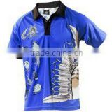 High Quality Sublimation POLO SHIRTS / New Customize 100% Polyester Sublimation polo Shirts for Mens