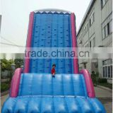 inflatable slide with climbing wall