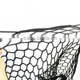 Manufacture Nylon organizer storage elastic net flexible 4 hooks trailer cargo nets for car holding things