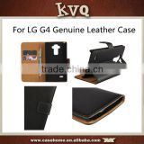 Genuine Real Leather Wallet Flip Case Cover For LG G4 Stylus