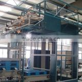 high efficient industrial full automatic production line rubber sheet cooling / automatic swinging rubber and tactoid