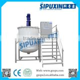 Sipuxin PVC single tank car paint mixing system with agitator