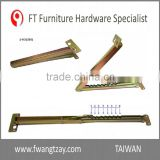 Taiwan OEM 8 Position Lift up Industrial Furniture Adjustable Angle Door Desk Table Bed Sofa Metal Mechanism Hinge Hardware