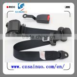 Universal 3-point automotive reel Safety Seat Belt with Retractor Pretensioner