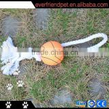 2014 newest perfect basketball rope chew pet toy