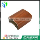 Alibaba china supplier casting billet wood grain aluminum alloy 6000 series