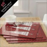 Eco pp material customized printing placemat wholesale round cheap placemat                                                                         Quality Choice