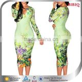 sex girls photos open breast dress front sexy keyhole dress floral print gold metallic dresses long sleeve bandage dresses