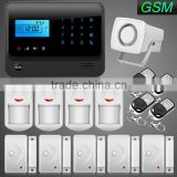 New Visual Intelligent App Controlled GSM Security Wireless Alarm System with Mini Square Siren                                                                         Quality Choice