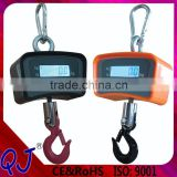 Digital Hanging Crane Scale Hook Weighing Scale,Colorful stainless scale 300kg hook scale