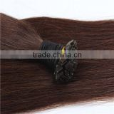 100% Virgin Brazilian Remy Human Asian U/I/Flat/V tip Keratin hair extensions Factory Price