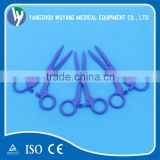Different style of disposable medical dressing forceps