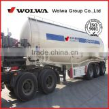 Tri-axle V shaped cement bulker trailer to carry powder or flyash