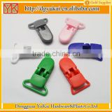 Yukai plastic pacifier soother dummy holder clip/baby pacifier clip