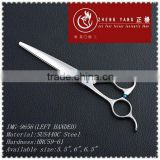 Beautiful diamond screw series,left-handle hair cutting,professional hairdressing scissors