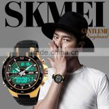 2015 new fashion man outdoor dive sports digital luxury skmei led watch instructions 1016