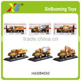16cm High quality Diecast construction truck models