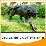 Bronze Panther Sculpture Statue Outdoor Playground Animal Sculpture Bronze Animal Garden Sculptures