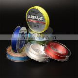 New style anti abrasion black fishing line with 100% pe material