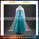 2016 factory direct sale fashion girls pricess tutu dress fancy frozen Anna&Elsa dresses