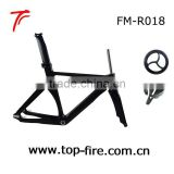 hot selling fixed carbon track frame set