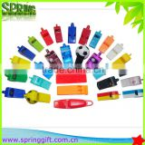 promotion plastic whistle/ metal whistles / custom whistle keychain                                                                         Quality Choice