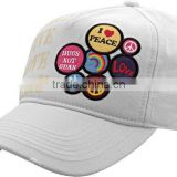 china yangzhou cap manufacturer professional customized baseball cap with embroidery logo