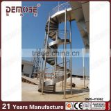 prefabricated metal used outdoor stair