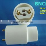BNCHG Hot Sales T8 to T5 Adaptor Conversion Compact Fluorescent Light Bulbs Fixture Lamp