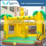 2016 best selling adult baby bouncer for sale , giraffe inflatable bouncer for party