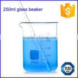 Manufacture price glass graduated 250ml measuring beaker                                                                         Quality Choice