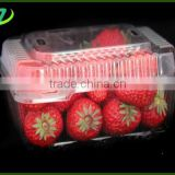 plastic rectangular tray for vegetable/plastic vegetable storage tray/plastic trays for fresh fruit and vegeta with high quality
