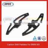 Factory Direct Sell Real Carbon Fiber Shift Paddles For BMW M3 E90/E92/E46 Steering Wheel Shift Paddles