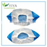 Xiantao China disposable waterproof shoe cover with PE coated / Rain boot cover/ disposable overshoe
