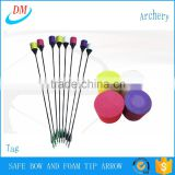 2016 hot sale safe archery foam tip arrow tag equirements