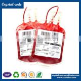 Wholesale scratch off sticker semi gloss paper blood bag label for blood tubes                                                                         Quality Choice