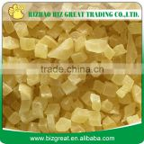 Wolesale Chinese Dried Crystal Ginger cubes, sticks, slices