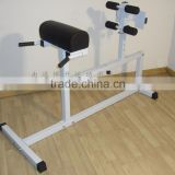 2015 roman chair,horizontal back extension machine,back hyperextension bench,gym fitness equipment