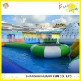 6 Person Inflatable Island and Floating Island Inflatable Water Park for Relaxation on Sea