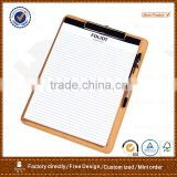 OEM restaurant menu folder&writing board folder&board with clip board