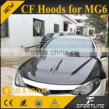 Jc Style Carbon Fiber Auto Engine Hoods for MG6