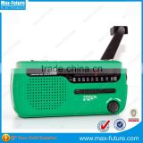 Portable Mini AM/FM/SW World band Radio with 3 Super-bright LED Torch,Dynamo Solar Powered Radio