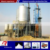 automatic industrial gypsum powder production line for construction/PLC control gypsum powder manufacturing machine