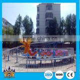 Popular outdoor Playground Amusement Park Rides roller coaster Slide Dragon electric train