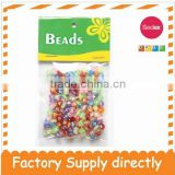 New Fashion plastic alphabet Beads for Kids, Bead Decoration, mixed color alphabet beads
