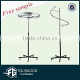 High quality shop fitting garment stand / big clothes hanger