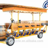 Europe Four wheel New Sightseeing electric tricycle electric beer scooter