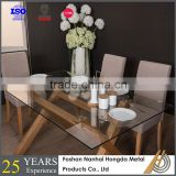 Plexiglass dining room glass diner table homes furniture